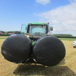 Double Paddle Bale Handler Double Paddle Bale Handler